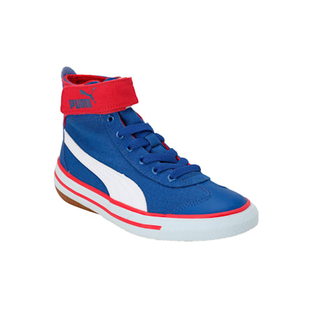 917 FUN Mid PS IDP Sneakers, TRUEBLUE-White-BarbaCherry, small-IND