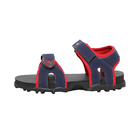 Track PS IDP Kid's Sandals, Peacoat-Ribbon Red-Black, small-IND