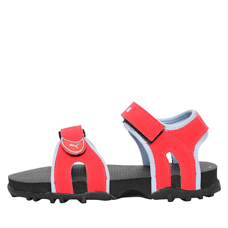 Track PS IDP Kid's Sandals, Red-CERULEAN-Aquifer, small-IND