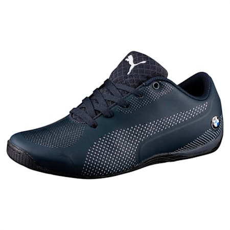 BMW MS Drift Cat 5 Ultra Kid's Shoes, Team Blue-Puma White, small-IND