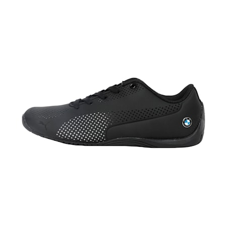 BMW MS Drift Cat 5 Ultra Kid's Shoes, Anthracite-Puma White, small-IND