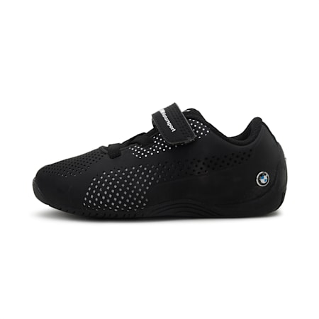 BMW Motorsport Drift Cat 5 Ultra PS Kids' Shoes, Anthracite-Puma White, small-IND