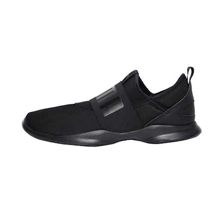 PUMA Dare Unisex Sneakers, Puma Black-Puma Black, small-IND