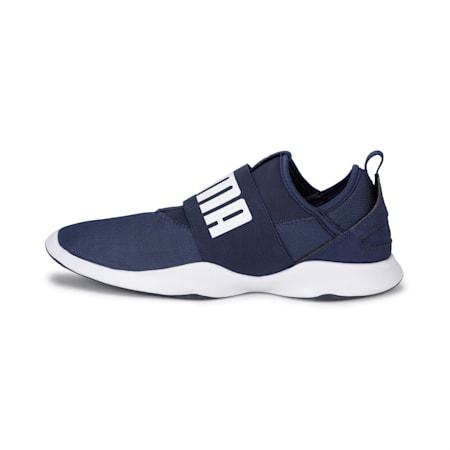 PUMA Dare Unisex Sneakers, Peacoat-Puma White, small-IND
