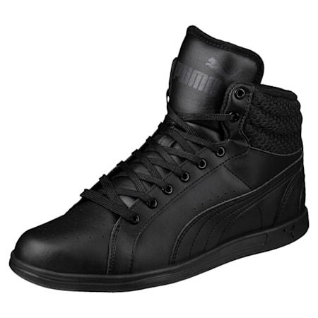 PUMA Ikaz Mid v2 Women's Shoes, Puma Black-Puma Black, small-IND