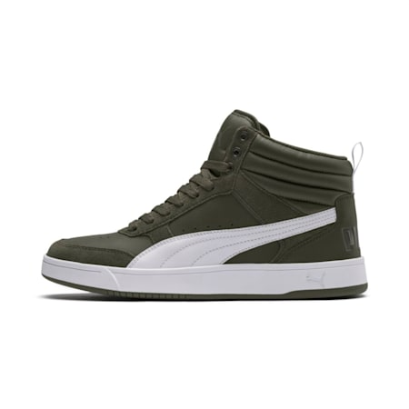 Rebound Street v2 Sneakers, Forest Night-White-Iron Gate, small-IND