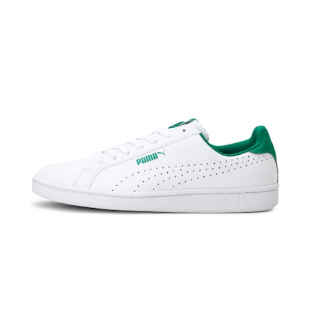 Smash Perf Shoes, Puma White-Verdant Green, small-IND