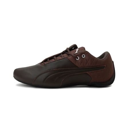 Future Cat Quilted Shoes, Chocolt Brwn-Pm Slvr-Pm Blck, small-IND