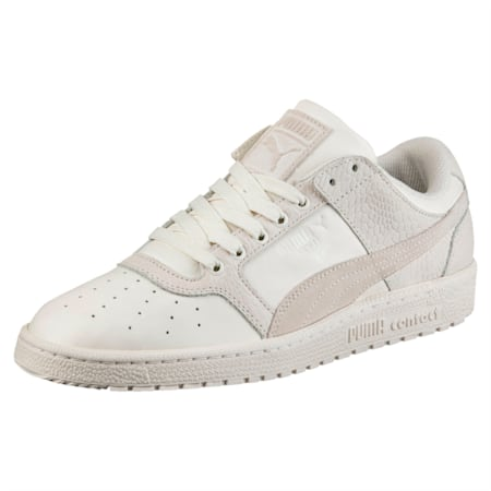 Sky II Lo Colour Blocked Leather Shoes, Whisper White-Whisper White, small-IND
