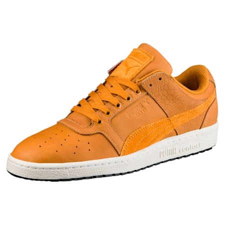 Sky II Lo Colour Blocked Leather Shoes, Inca Gold-Inca Gold, small-IND