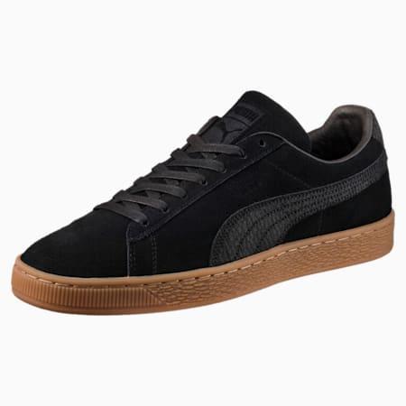 Suede Classic Natural Warmth Sneakers, Puma Black-Puma Black, small