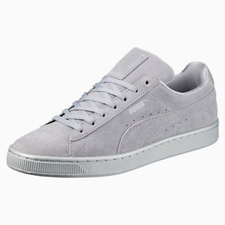 Suede Classic Anodized Sneakers, Quarry-Quarry, small