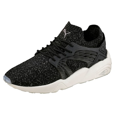 Blaze Cage evoKNIT Shoes, P Black-Steel Gray-W White, small-IND