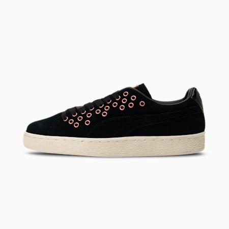 Suede XL Lace VR Women's Shoes, Puma Black-Puma Black, small-IND