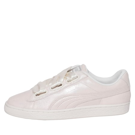 Basket Heart Night Sky Women's Shoes, Puma White-Puma White, small-IND