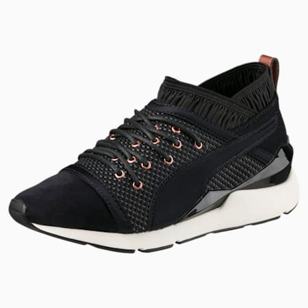 Pearl Velvet Rope Women's Shoes, Puma Black-Puma Black, small-IND