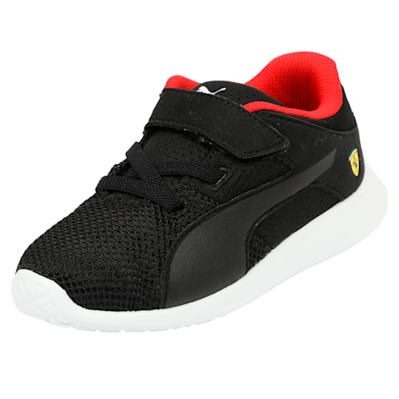 Scuderia Ferrari F117 V Pre School Shoes, Puma Black-Puma Black, small-IND
