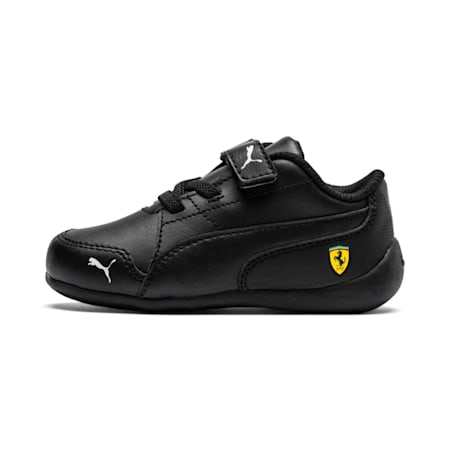 Ferrari Drift Cat 7 V Kids' Shoes, Puma Black-Puma Black, small-IND