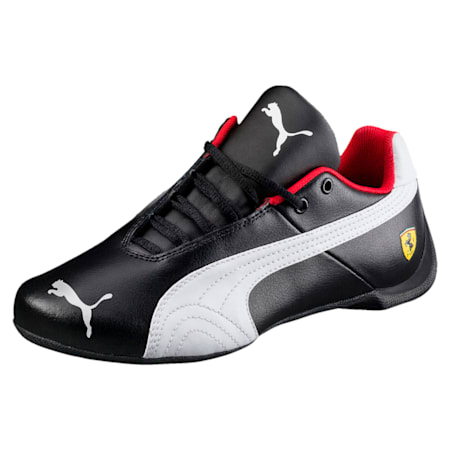 Ferrari Future Cat Kids' Shoes, Puma Black-Puma White, small-IND