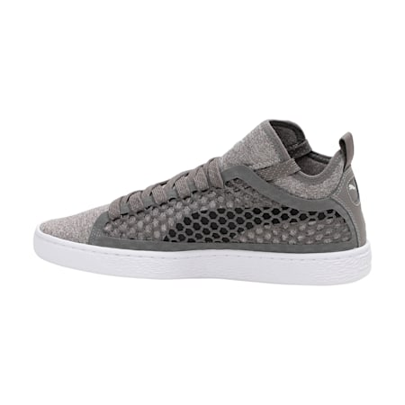 Basket Classic NETFIT Shoes, Smoked Pearl-Puma White, small-IND