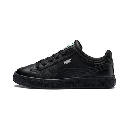 Basket Classic Little Kids' Shoes, Puma Black-Puma Black, small