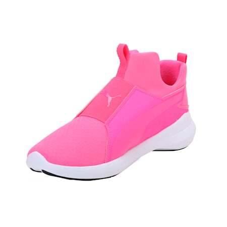 Rebel Mid Women's Shoes, KNOCKOUT PINK-KPINK- White, small-IND