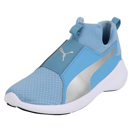 Rebel Mid Women's Shoes, Allure-Puma Silver, small-IND