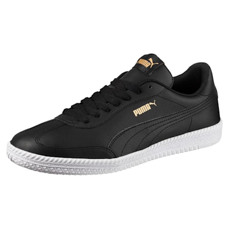 Astro Cup Leather Shoes, Puma Black-Puma Black, small-IND