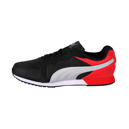 Pacer IDP, Black-Ribbon Red-Silver, small-IND