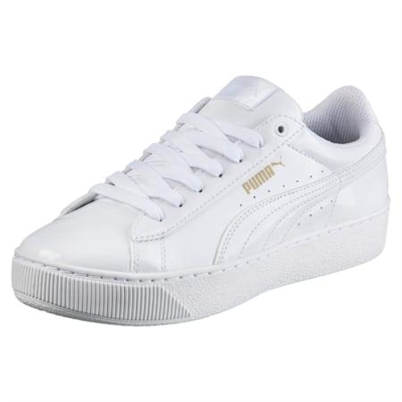 Puma Vikky Platform Patent, Puma White-Puma White, small-IND