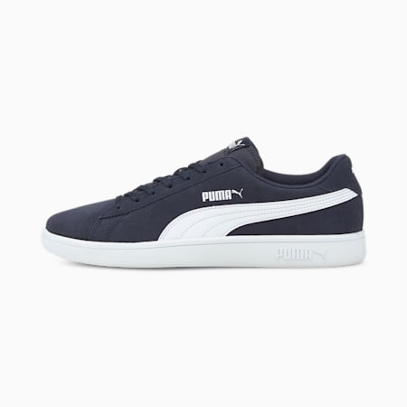 Smash v2 Trainers, Peacoat-Puma White, small