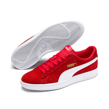 Smash v2 Trainers, High Risk Red-White-Gold, small-SEA