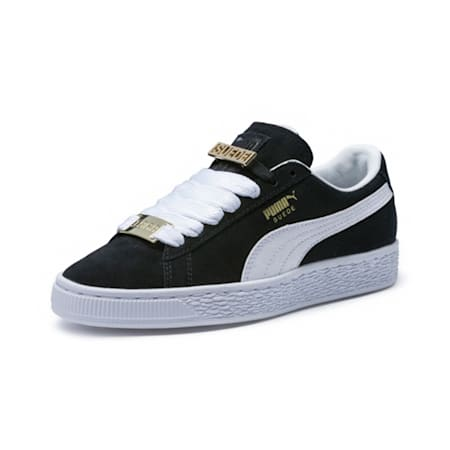 Suede Classic B-BOY Fabulous Little Kids' Shoes, Puma Black-Puma White, small