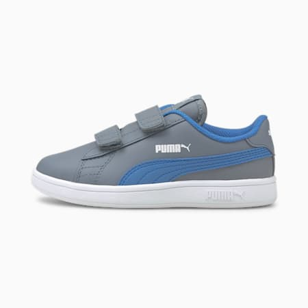 Smash v2 Leather Kids' Shoes, Flint Stone-Star Sapphire, small-IND