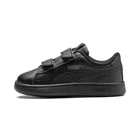 Zapatillas para niños Smash v2, Puma Black-Puma Black, small