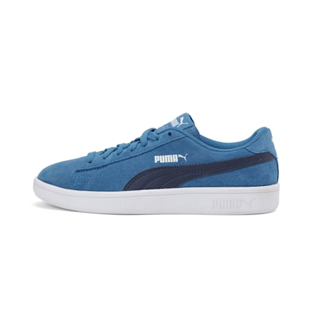 Smash v2 Suede Jr Sneakers, Bright Cobalt-Peacoat, small-IND