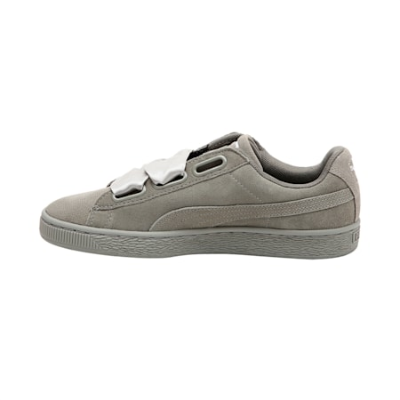 Suede Heart Pebble Women's Shoes, Rock Ridge-Rock Ridge, small-IND