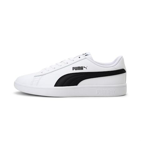 PUMA Smash v2  Sneakers, Puma White-Puma Black, small-IND