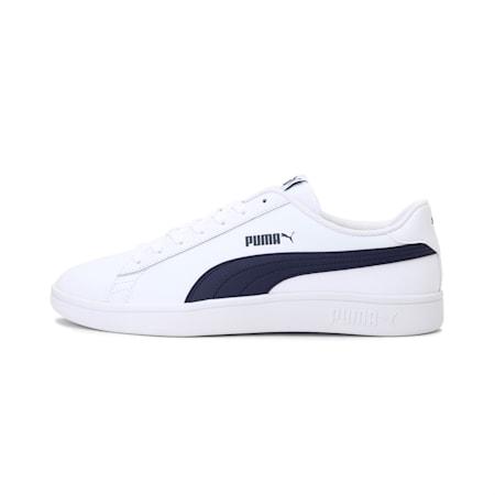 PUMA Smash v2  Sneakers, Puma White-Peacoat, small-IND