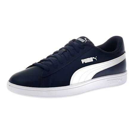 PUMA Smash v2  Unisex Sneakers, Peacoat-Puma White, small-IND