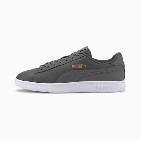 PUMA Smash v2  Sneakers, CASTLEROCK- Team Gold-White, small-IND