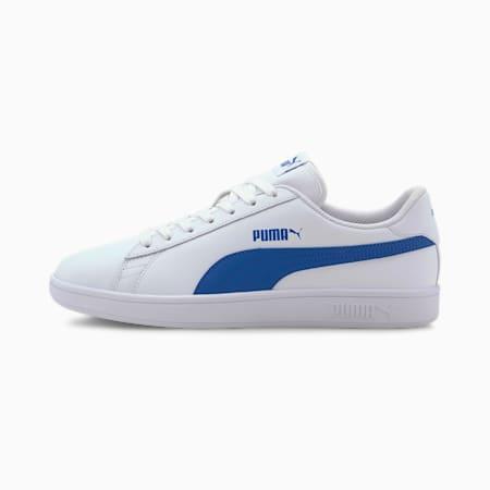 PUMA Smash v2  Sneakers, Puma White-Lapis Blue, small-IND
