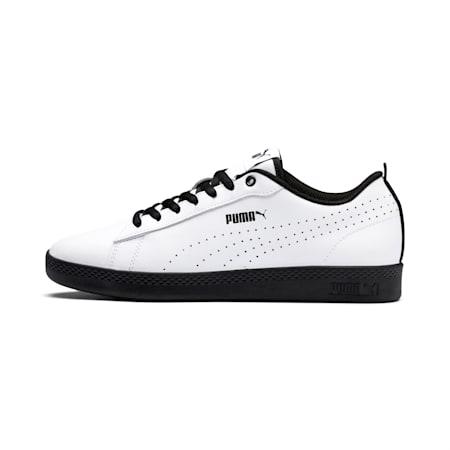 Smash v2 Perf Women's Sneakers, Puma White-Puma Black, small