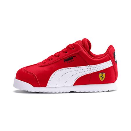 Scuderia Ferrari Roma Toddler Shoes, Rosso Corsa-White-Black, small