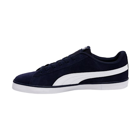 Urban Plus Suede Shoes, Peacoat-Puma White, small-IND