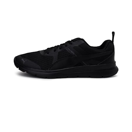 Flex Essential Shoes, Puma Black-P. Black-P. Black, small-IND
