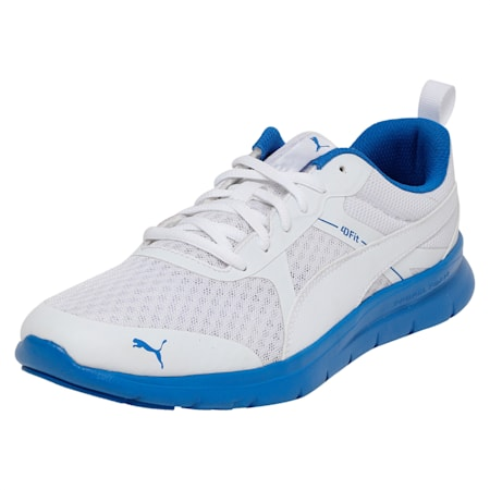 Flex Essential Shoes, P.White-P. White-Strong Blue, small-IND