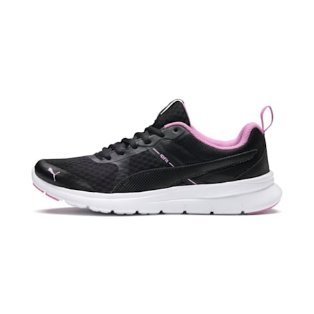 Flex Essential Shoes, Puma Black-Orchid-Orchid, small-IND