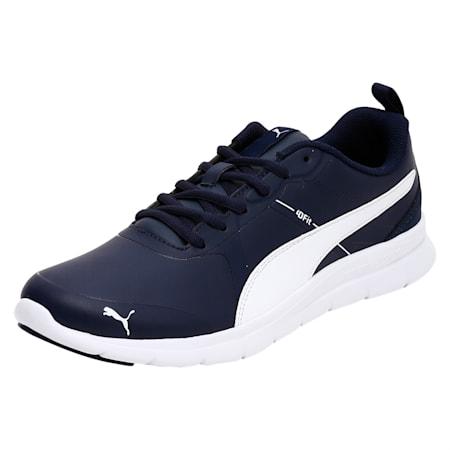 PUMA Flexracer v2 SL SoftFoam Sneakers, Peacoat-Puma White, small-IND