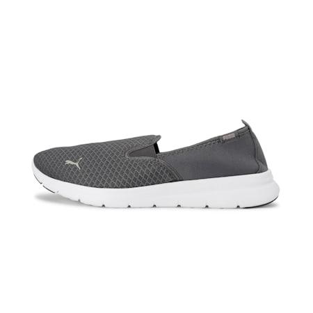 PUMA Flex Essential Slip On Walking Shoes, Iron Gate-Iron Gate, small-IND